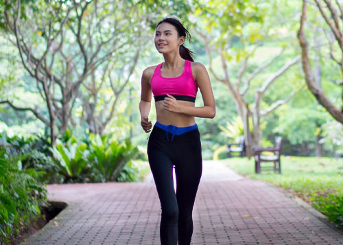 Reap the benefits of running - About